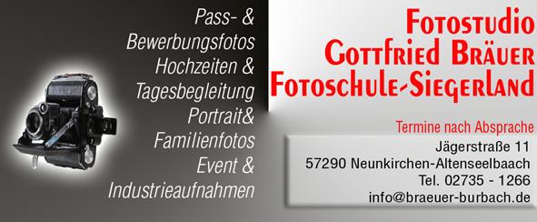 Fotoseminare, Fotokurse und Fotoworkshops im Siegerland